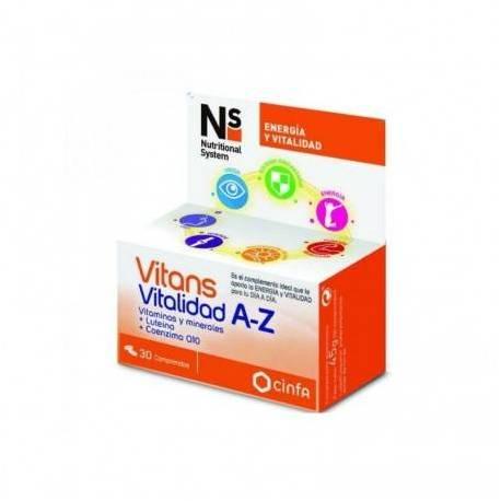 NS Vitans A Z 30 Comprimidos