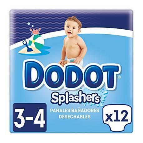 Dodot Splasher Pañal Bañador 11kg 12und Talla 3 4 6 YyIb6gvf7m