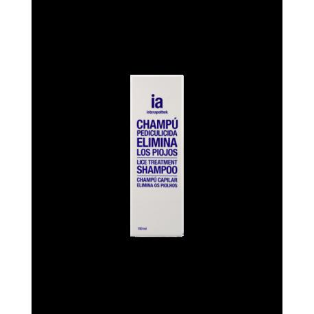 Interapothek champú antipiojos 150ml