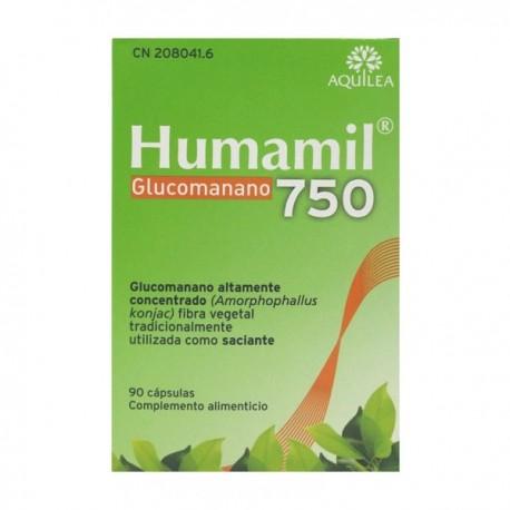humamil 750 mg. 90 capsulas
