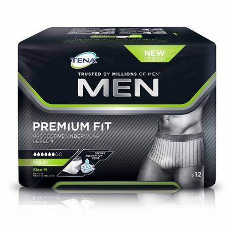 Tena Men Level 4 Premium Fit Talla L 10 Unidades