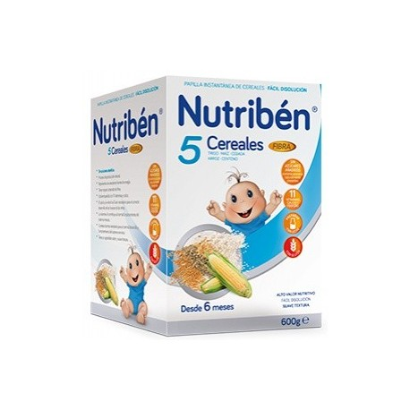 Nutribén 5 Cereales Fibra 600 g