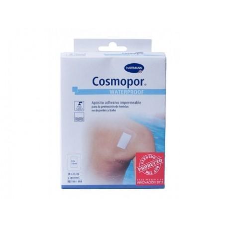 cosmopor waterproof 10cm x 8cm 5 uds