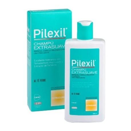 pilexil champu extrasuave 300 ml.