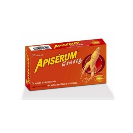 apiserum ginseng 30 capsulas