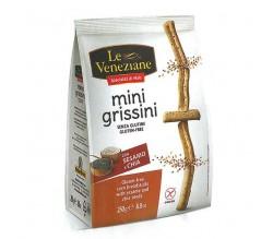 La Veneziane mini grissini con sesamo/chia 250g
