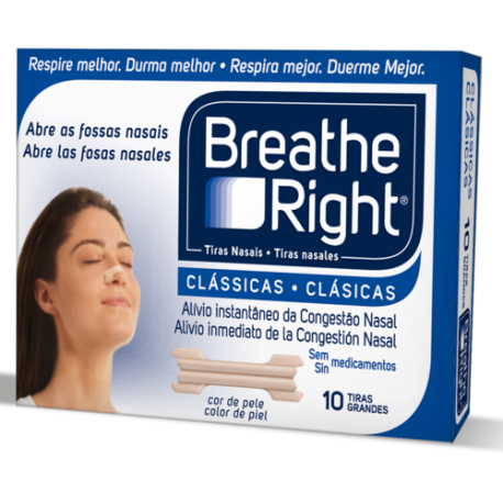 breathe right tira nasal pq/med 30u.