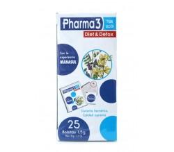 pharma 3 diet & detox 25 bolsitas