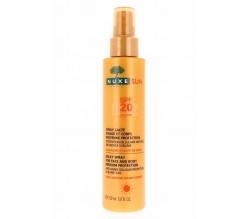 Nuxe Leche Corporal y Facial en Spray SPF 20 Sun