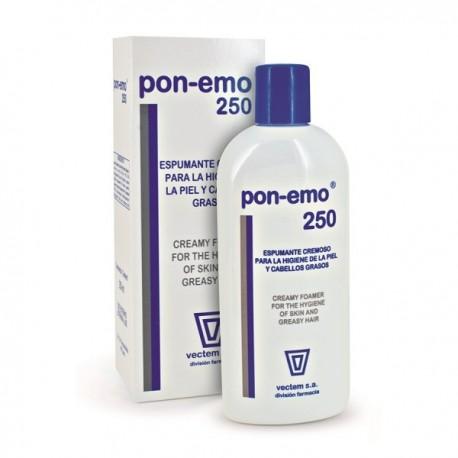 pon-emo lipoproteico gel/champu 250 ml.