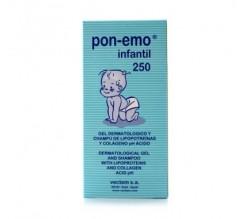 pon-emo infantil locion aloe vera 250 ml