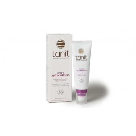 tanit fluido antimanchas spf 30 50 ml
