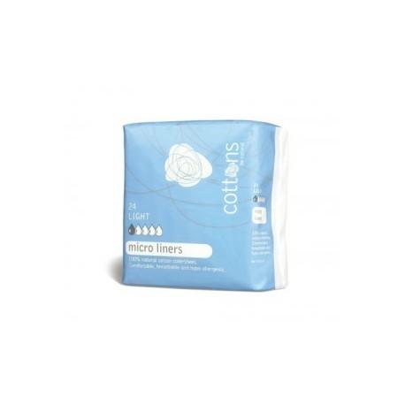 Cottons Salvaslip Normal Ultrafino 100% Algodon 24u
