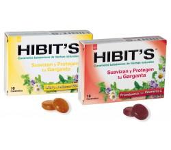 caramelos hibit's miel y limon 16 uds