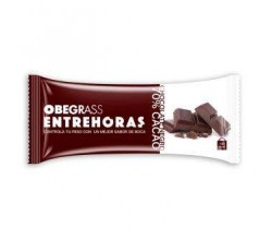 Actafarma Obegrass Entrehoras Chocolate Negro 20 Unds