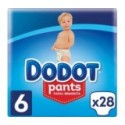 Dodot Pañales Pants T.6 (15+Kg) 28Unds