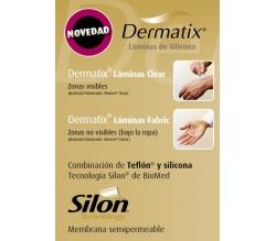 dermatix lamina silicona clear 4 x 13