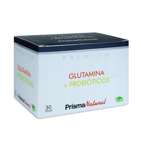 Prisma Natural Glutamina + Probioticos 30 Sticks