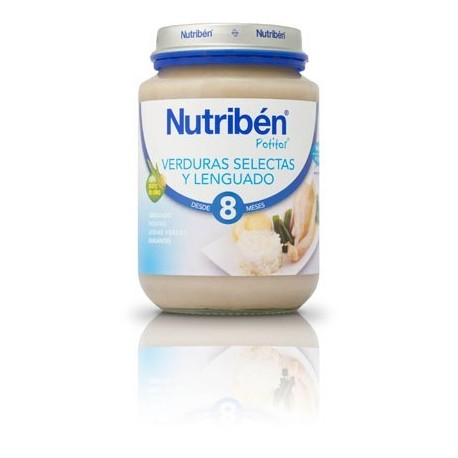 nutriben junior lenguado verduras 200gr.