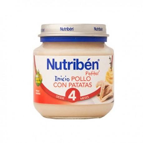 nutriben bebe inicio pechuga/patata 130g