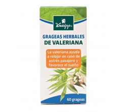 kneipp valeriana grageas herbales 60 gra