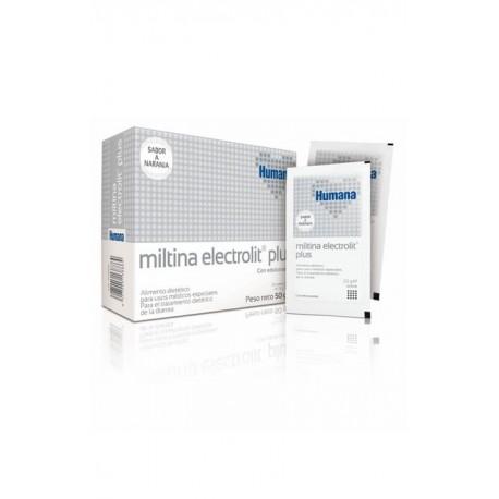 miltina electrolit plus 2,6g x 20 sobres