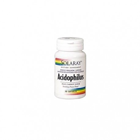 Solaray Acidophilus Plus 30 Caps(nevera)