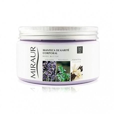 Miraur Spa crema corporal manteca karité y vainilla 600ml