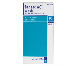 BENZAC WASH (50 MG/G GEL TOPICO 100 G )