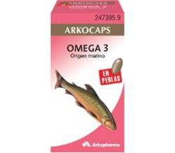arkofluido aceite salmon 50 caps.