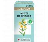 arkofluido aceite de onagra cápsulas x50