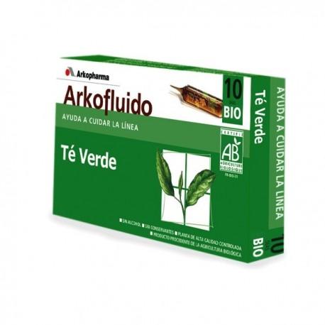 arko te verde 10 ampollas