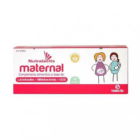 Nutralactis Maternal 7cáps
