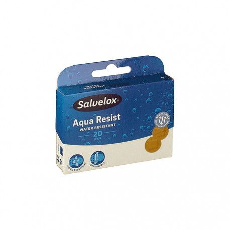 salvelox aposito plastico redondo 20 uds