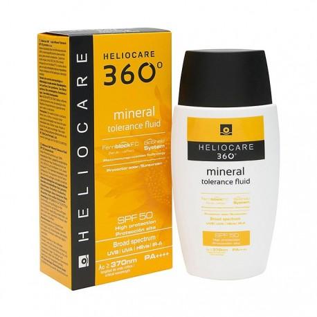 Heliocare 360 Mineral Tolerance Fluid SPF50 50ml