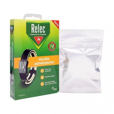 Relec Pulsera Adulto Antimosquitos Negra
