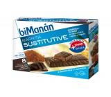 Bimanán Barritas Fondant Chocolate 8 unidades
