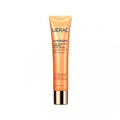 Lierac Sunissime fluido protector rostro antiedad FPS15+ 40ml