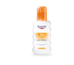 eucerin solar corp. spray fp20 200 ml