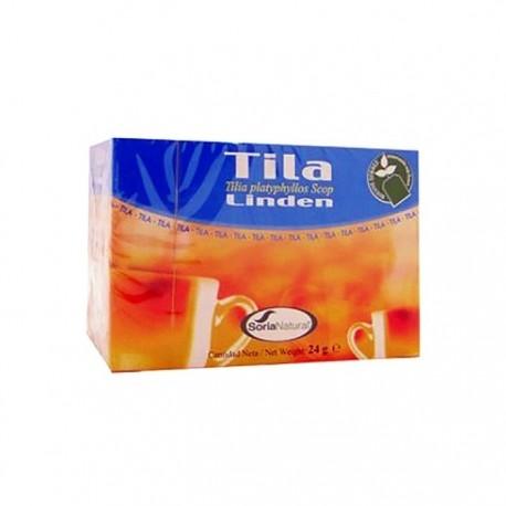 Soria Natural tila infusión 20 filtros