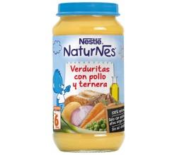 Nestlé NATURNES G.Puré Verdura Pollo/ternera 250GR