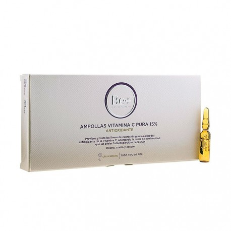Be+ ampollas vitamina c pura 15% 10 x 2ml