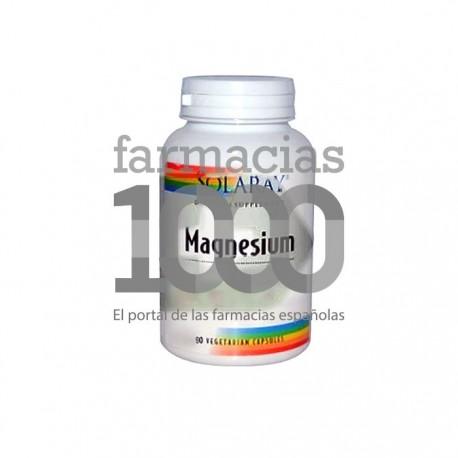 Solaray magnesium 90cáps vegetales