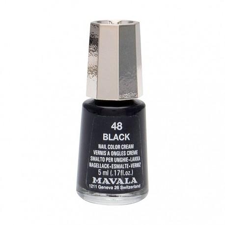 Mavala esmalte Black (color 48) 5ml