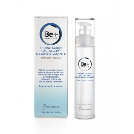 BE+ EMULSIÓN LIGERA PIEL NORMAL/MIXTA 50ML