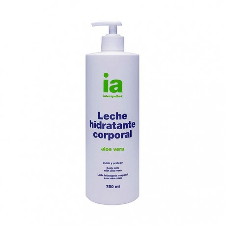 interapothek leche corporal aloe 750 ml