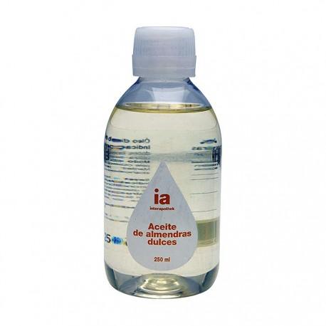 interapothek aceite de almendras 250 ml.