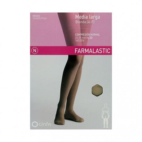 media farmalastic larga normal beig t/eg