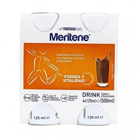 meritene activ sabor choco 4x125ml