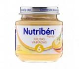 nutriben bebe frutas variadas 130 gr.